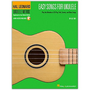 Hal-Leonard-Easy-Songs-For-Ukulele-Book-CD---Supplementary-To-The-Hal-Leonard-Ukulele-Method-Standard