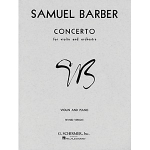G--Schirmer-Concerto-For-Violin-Op-14-With-Piano-Reduction-By-Barber-Standard