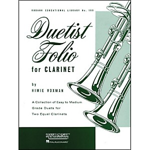 Hal-Leonard-Duetist-Folio-For-Clarinet-Easy-To-Medium-Standard