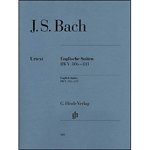 G--Henle-Verlag-English-Suites-BWV-806-811-By-Bach-Standard