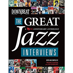 Hal-Leonard-Downbeat---The-Great-Jazz-Interviews--A-75th-Anniversary-Anthology-Standard