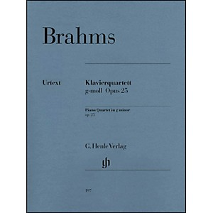 G--Henle-Verlag-Piano-Quartet-G-minor-Op--25-By-Brahms-Standard
