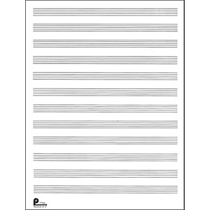 Music-Sales-Passantino-Manuscript-Paper-Old--51--12-Stave--80-Pages--9X12-Standard