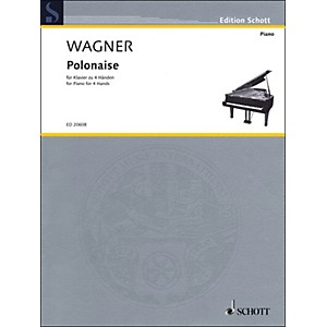 Schott-Polonaise-For-Piano--4-Hands-Standard