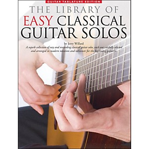 Music-Sales-Library-Of-Easy-Classical-Guitar-Solos--Notation---Tablature--Standard