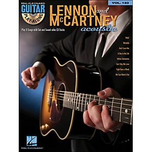 Hal-Leonard-Lennon---Mccartney-Acoustic---Guitar-Play-Along-Volume-123--Book-CD--Standard