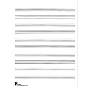 Music-Sales-Passantino-Music-Paper-Filler-No-2-96-Pages--8-5X11--3-Ring-Standard