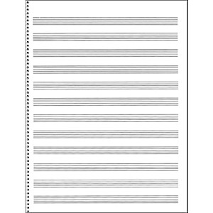 Music-Sales-Passantino-Manuscript-Paper--65-12-Stave--32-Page--Spiral--9X12-Standard