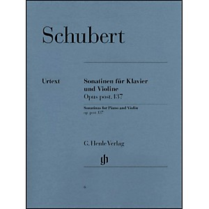 G--Henle-Verlag-Sonatinas-For-Piano-And-Violin-Opus-Post-137-By-Schubert-Standard