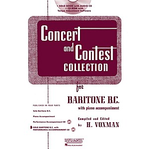 Hal-Leonard-Rubank-Concert-And-Contest-Collection-Baritone-B-C--Book-CD-Standard