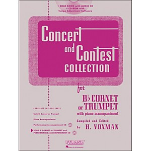 Hal-Leonard-Rubank-Concert-And-Contest-Collection-Trumpet-Cornet-Book-CD-Standard