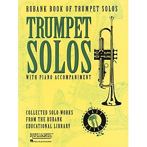 Hal-Leonard-Rubank-Book-Of-Trumpet-Solos-Easy-Level-With-Piano-Accompaniment-Standard
