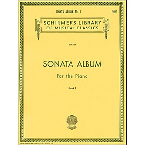 G--Schirmer-Sonata-Album-Book-1-For-Piano---15-Sonatas-By-Haydn--Mozart-And-Beethoven-Standard
