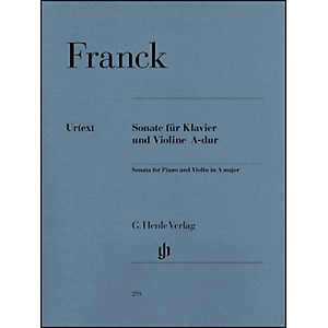 G--Henle-Verlag-Sonata-For-Piano-And-Violin-A-Major-By-Franck-Standard