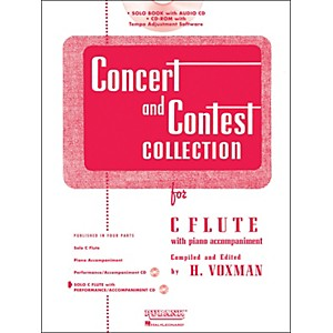 Hal-Leonard-Rubank-Concert-And-Contest-Collection---Flute--Book-CD--Standard