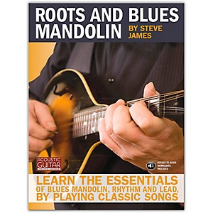 Hal-Leonard-Roots-And-Blues-Mandolin--Acoustic-Guitar-Series--Book-CD-Standard