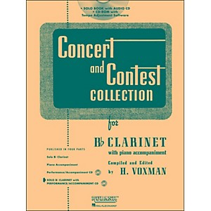 Hal-Leonard-Rubank-Concert-And-Contest-Collection-Clarinet-Book-CD-Standard