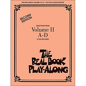 Hal-Leonard-The-Real-Book-Play-Along-Volume-2-A-D--3-CD-Pack--Standard