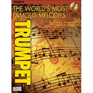 Cherry-Lane-The-World-s-Most-Famous-Melodies-for-Trumpet-Book-CD-Standard
