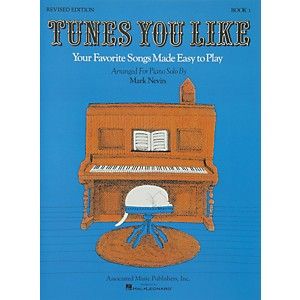 Music-Sales-Tunes-You-Like-Book-1---Favorite-Songs-Made-Easy-Piano-Solos-Revised-Edition-By-Nevin-Standard
