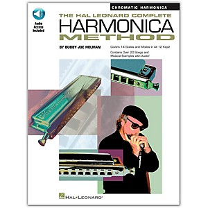 Hal-Leonard-The-Hal-Leonard-Complete-Harmonica-Method-Book-CD-Chromatic-Harmonica-Standard