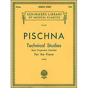 G--Schirmer-Technical-Studies-Piano-60-Progressive-Exercises-By-Pischna-Standard