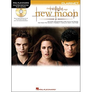 Hal-Leonard-Twilight--New-Moon-For-Clarinet---Instrumental-Play-Along-CD-Pkg-Standard