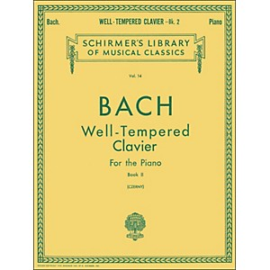G--Schirmer-Well-Tempered-Clavier-Book-2-Piano-Solo-By-Bach-Standard