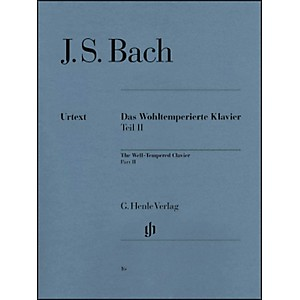 G--Henle-Verlag-Well-Tempered-Clavier-BWV-870-893-Part-II-By-Bach-Standard