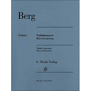 G--Henle-Verlag-Violin-Concerto-Piano-Reduction-By-Berg---Kube-Standard