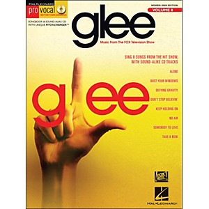 Hal-Leonard-Glee---Pro-Vocal-Songbook---CD-For-Women-Men-Volume-8-Standard