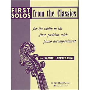 G--Schirmer-First-Solos-From-The-Classics-For-Violin-in-First-Position-Standard