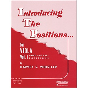 Hal-Leonard-Introducing-The-Positions-For-Viola-Vol-1-Third-And-Half-Positions-Standard