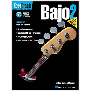 Hal-Leonard-FastTrack-Bass-Method-Book-2-Book-CD-Spanish-Edition-Standard