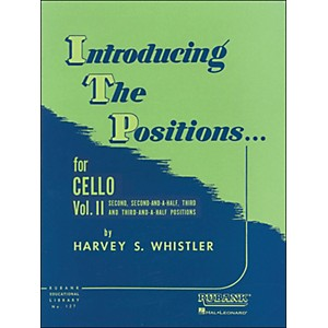Hal-Leonard-Introducing-The-Positions-For-Cello-Vol-2-2nd--2-1-2--3rd-And-3-1-2-Positions-Standard
