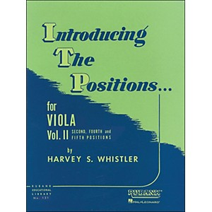Hal-Leonard-Introducing-The-Positions-For-Viola-Vol-2-2nd--4th---5th-Positions-Standard