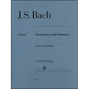G--Henle-Verlag-Inventions-And-Sinfonias-BWV-772-801-By-Bach---Steglich-Standard