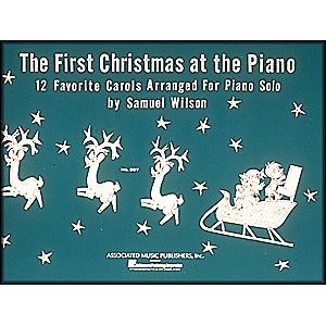 Music-Sales-First-Christmas-At-The-Piano-By-Wilson-Standard