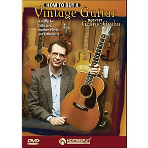 Homespun-How-To-Buy-A-Vintage-Guitar---By-George-Gruhn-DVD-Standard