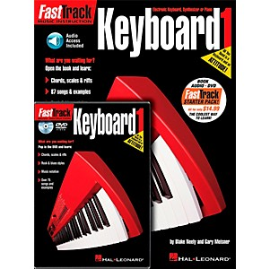 Hal-Leonard-FastTrack-Keyboard-Method-Starter-Pack---Includes-Book-CD-DVD-Standard