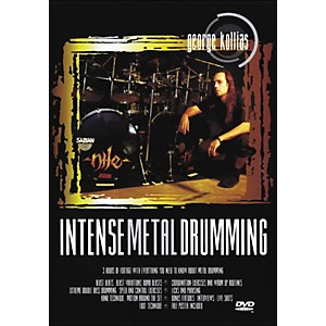 Music-Sales-Intense-Metal-Drumming---George-Kollias-Instructional-Drum-DVD-Standard