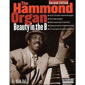 Backbeat-Books-Hammond-Organ---Beauty-In-The-B---2nd-Edition-Softcover-Standard