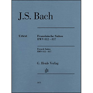 G--Henle-Verlag-French-Suites-BWV-812-817-Without-Fingering-By-Bach---Steglich-Standard