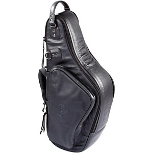 Gard-Mid-Suspension-EM-Wide-Neck-Pocket-Alto-Saxophone-Gig-Bag-111-MLK-Black-Ultra-Leather