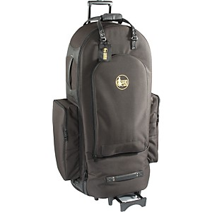 Gard-4-4-Large-Frame-Tuba-Wheelie-Bag-64-WBFLK-Black-Ultra-Leather