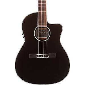 Cordoba-Fusion-14-Jet-Acoustic-Electric-Nylon-String-Classical-Guitar-Black