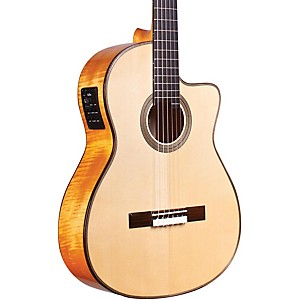Cordoba-Fusion-12-Maple-Acoustic-Electric-Nylon-String-Classical-Guitar-Natural