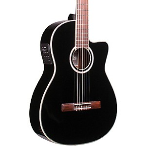 Cordoba-Fusion-12-Jet-Acoustic-Electric-Nylon-String-Classical-Guitar-Black