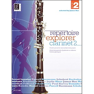Carl-Fischer-Repertoir-Explorer---Clarinet-Vol-2-Book-Standard