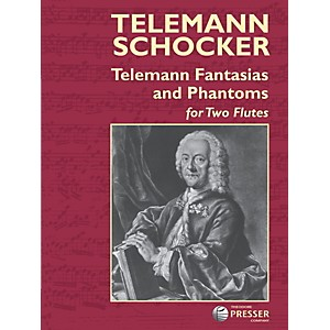 Carl-Fischer-Telemann-Fantasias-and-Phantoms-Book-Standard